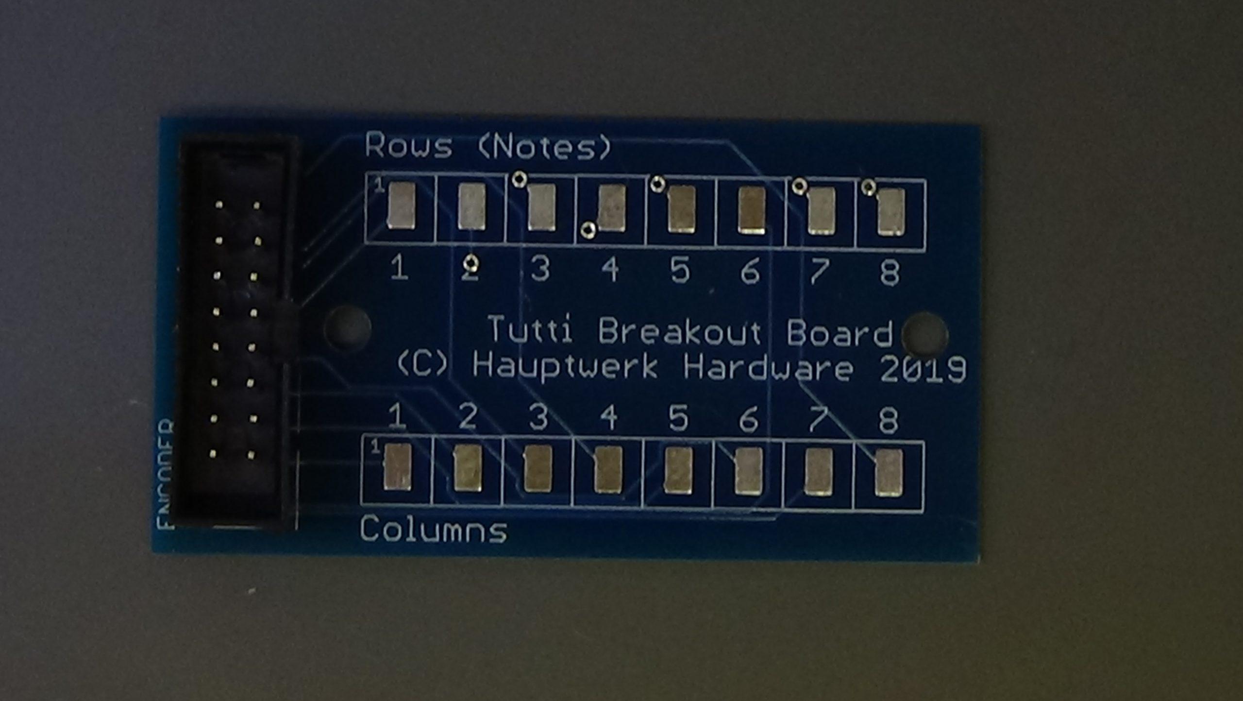 Tutti Breakout Board
